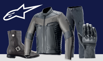 Alpinestars Spring 2020 range at the Carole Nash MCN London motorcyle Show this Feb