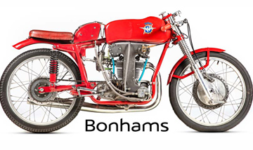 Bonhams Classic Zone at the Carole Nash MCN London Motorcycle Show